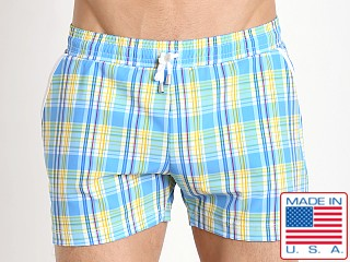 Pistol Pete Citron Swim Short Blue