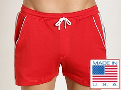 Pistol Pete Goalie Short Red