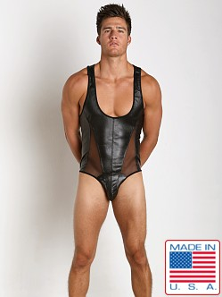 Pistol Pete Erotic Singlet Black