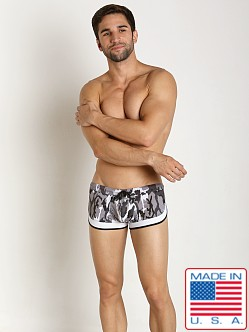 Pistol Pete Combat Swim Trunk Black