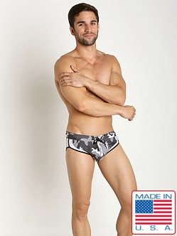 Pistol Pete Combat Swim Brief Black