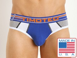 Timoteo Atletico Super Low Backless Brief Orange