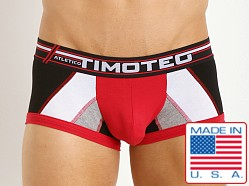 Timoteo Atletico Trunk Red