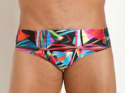Speedo Powerflex Color Shards Swim Brief