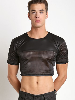 Complete the look: Cell Block 13 Tight End Crop Top Jersey Black