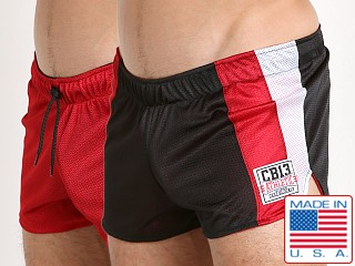 Cell Block 13 Sweeper Reversible Short Red