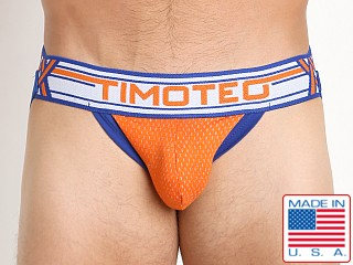 Timoteo Jet Stream UBulge Enhancing Jock Orange