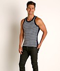 Modus Vivendi Striped Tank Top Grey, view 1