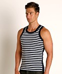 Modus Vivendi Striped Tank Top Grey, view 3