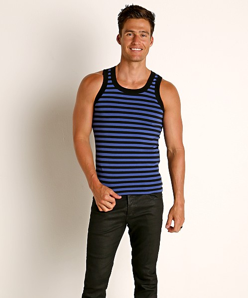 Modus Vivendi Striped Tank Top Blue