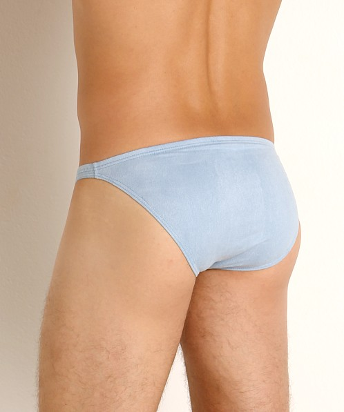 Modus Vivendi Vegan Suede Super Low Rise Brief Lt. Blue