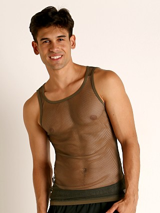 You may also like: Modus Vivendi Camo C-Thru Mesh Tank Top Khaki
