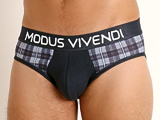 Modus Vivendi Jeans Line Brief Checker