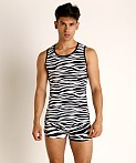 Modus Vivendi Animal Tank Top Zebra, view 2