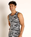 Modus Vivendi Animal Tank Top Zebra, view 3