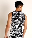 Modus Vivendi Animal Tank Top Zebra, view 4