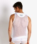 Nasty Pig Open Access Tank Top White, view 4