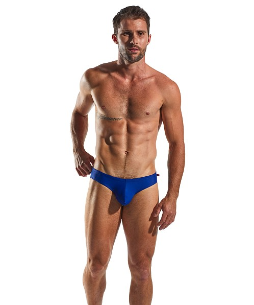 Cocksox Enhancer Drawstring Swim Brief Volley Blue