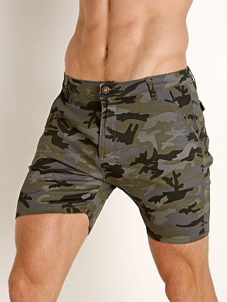 Cell Block 13 Trooper Denim Short Camouflage