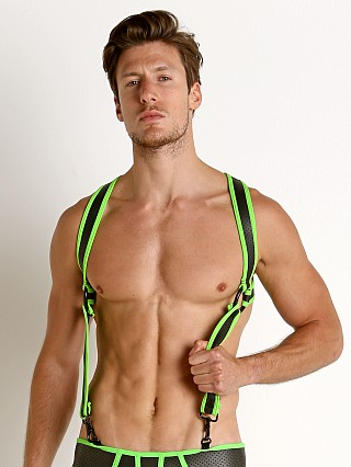 Cell Block 13 Gunner Neoprene Harness Green
