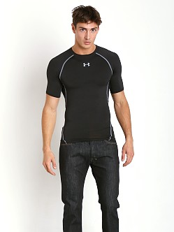 Under Armour Heatgear Shortsleeve Compression Tee Black