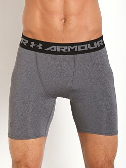 Under Armour Heatgear Armour Compression Short Carbon Heather