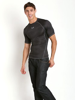 Under Armour Heatgear Rattlesnake Compression Tee Black