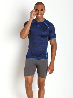 Under Armour Heatgear Rattlesnake Compression Tee Midnight