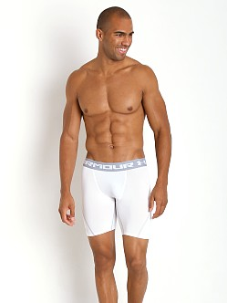 Under Armour Heatgear Armour Stretch Compression Short White