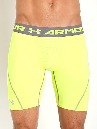 Under Armour Heatgear Armour Stretch Compression Short Yellow