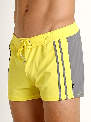 You may also like: Sauvage Moderno Two-Tone Swim Trunk Yellow/Grey