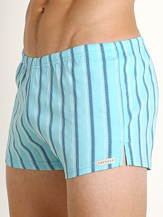 You may also like: Sauvage Italian Nylon/Lycra Classic Trunk Sky Stripe