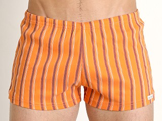 You may also like: Sauvage Italian Nylon/Lycra Classic Trunk Orange Stripe