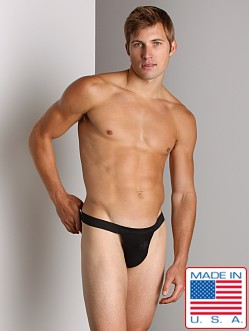 ActiveMan Mesh Back Jock Thong Black