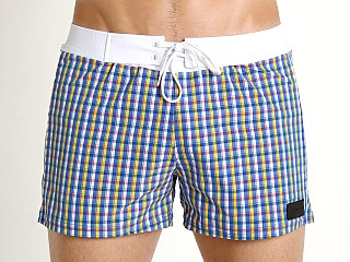 You may also like: Sauvage Como Italia Plaid Swim Trunk Nautical
