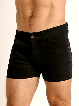 You may also like: LASC Corduroy 5-Pocket Short Shorts Black