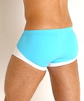 Gregg Homme Coast Swim Trunk Aqua, view 4