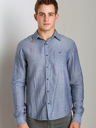Complete the look: Joe's Jeans Relax Single Pocket Shirt Dark Blue