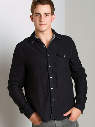 You may also like: Joe's Jeans Reversible Relax Round Pocket Shirt Midnight