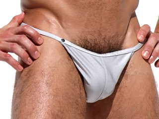 You may also like: Rufskin Roma Metallic Shine Nylon Calkini Swim Brief Silver
