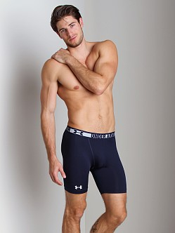 Under Armour HeatGear Sonic Compression Short Navy/White