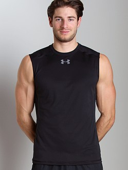 Under Armour HeatGear Flyweight Sleeveless T Black/Black