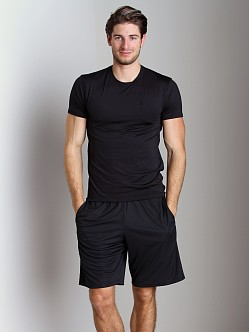 Under Armour Original Fitted Crew Neck T Black