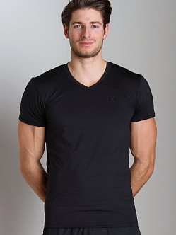 Under Armour Original Fitted V-Neck T Black