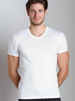 Under Armour Original Fitted V-Neck T White