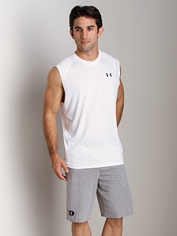 Under Armour UA Tech Sleeveless T White/Black