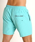Hugo Boss Dolphin Swim Shorts Teal, view 4