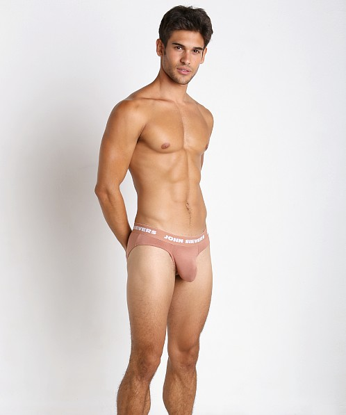John Sievers SOLID Natural Pouch Brief Mocha