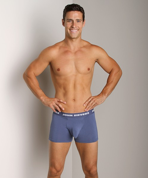 John Sievers SOLID Natural Pouch Boxer Briefs Pacific Blue
