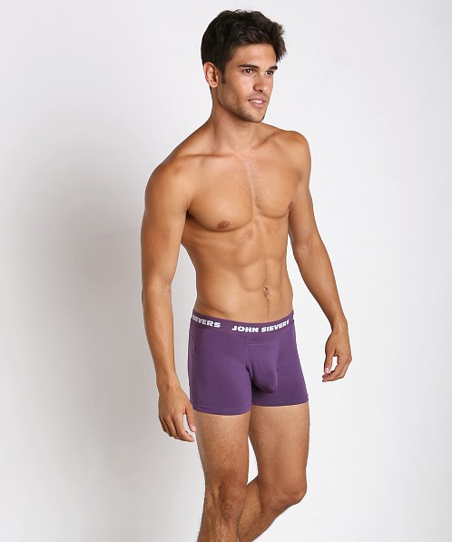 John Sievers SOLID Natural Pouch Boxer Briefs Loganberry